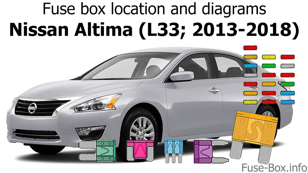 Fuse box location and diagrams: Nissan Altima (L33; 2013 ...