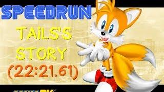 SPEEDRUN - Sonic Adventure DX - Tails's Story (22:21.61) [PB]