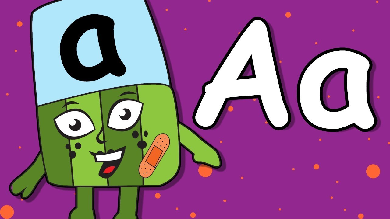 Alphablocks | Learn Alphabet A | Alphabets Coloring and Drawing ...