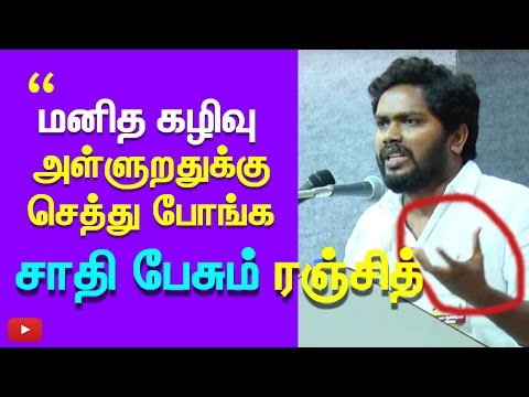 """""""Ambedkar won't help. All are madness"""" - Pa. Ranjith Controversial talk about Talith People & caste"""