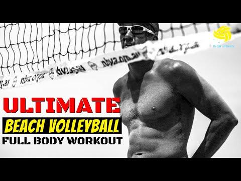 Beach Volleyball | AVP Player's Pre-Season Workout