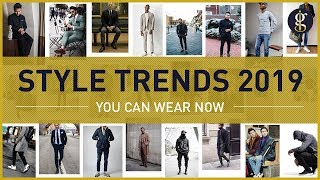 MEN'S FASHION TRENDS for 2019 To Wear Right Now | Winter Style Inspiration