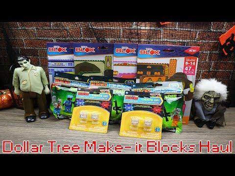 Dollar Tree Haul | Make-it Blocks