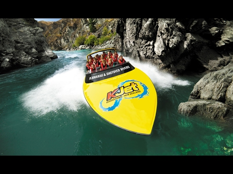 KJET High Speed Boat Experience - Queenstown, New Zealand