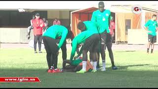 Revivez le dernier entraînement des Lions avant le Mali