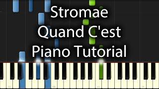 Stromae - Quand C