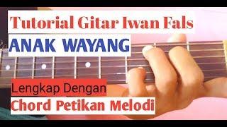 Tutorial Gitar - Iwan Fals ( ANAK WAYANG )