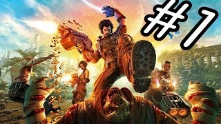 Bulletstorm PC Gameplay Walkthrough Part 1 (PC/XBOX/PS3)(No Commentary)