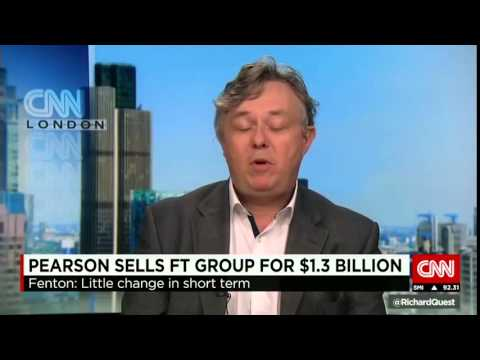 CNN News July 24 2015 Nikkei buys Financial Times for $1 3 billion