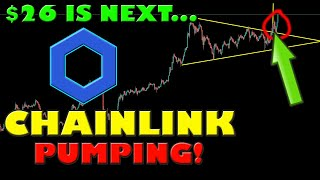 CHAINLINK PUMP WILL LËAD TO THE NEXT PRICE TARGET OF $26.00!
