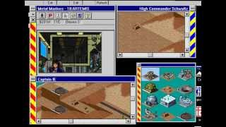 IE 9 PC games review - Metal Marines (1994)