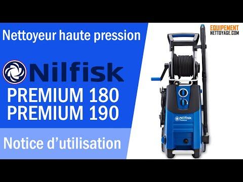 Nilfisk PREMIUM 180 Nettoyeur haute pression - Instruction de montage et mise en route