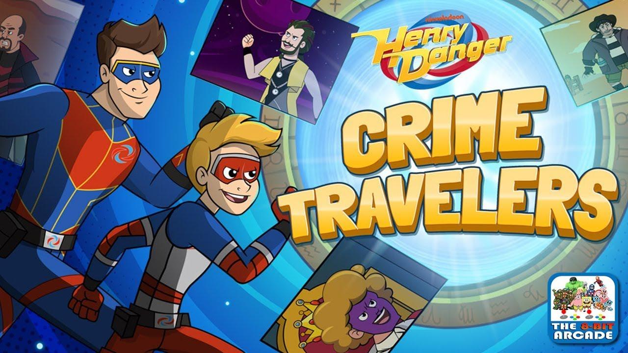 Henry Danger Crime Travelers Travel Through Time In