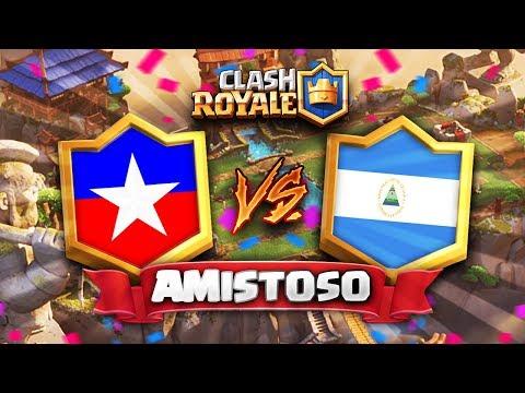 CHILE vs NICARAGUA // Clash Royale Amistoso Internacional LATAM (Diciembre 13, 2017)