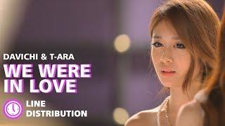 Davichi T Ara 다비치 티아라 We Were In Love 우리 사랑했잖아 Line Distribution