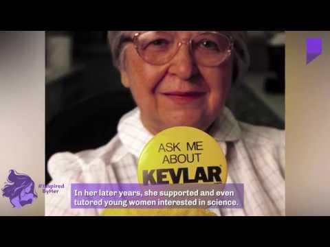 Stephanie Kwolek, the inventor of Kevlar