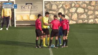 Alashkert (ARM) vs Uzbekistan Friendly 11.02.2017
