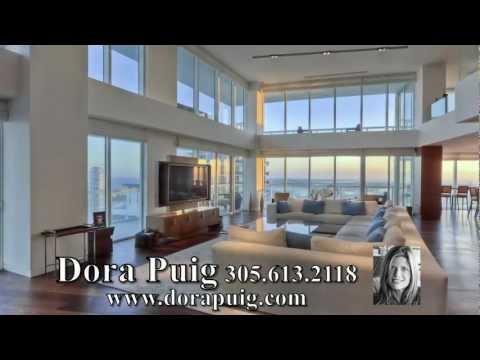 RECORD BREAKING SALE!!! ~ Icon South Beach Penthouse - 450 Alton Road PH2, Miami Beach Luxury