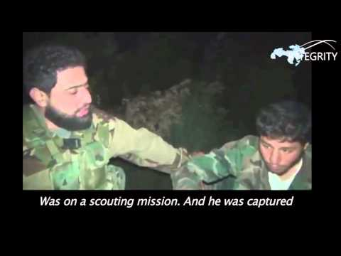 Jabhat Al-Nusra capture Syrian soldier and threaten to decapitate Shias
