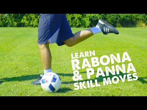 Learn Rabona & Panna/nutmeg skills tutorials with Leo & STR