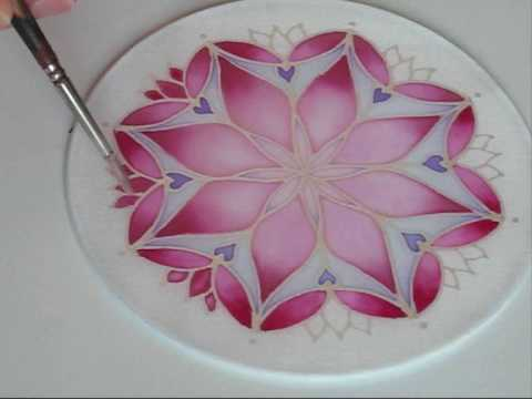 how to prepare silk for painting