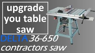 Contractor table saw fence woodworking challenge delta 36 650 replacement fence sherwood upgrade fence installation keyboard keysfo Images