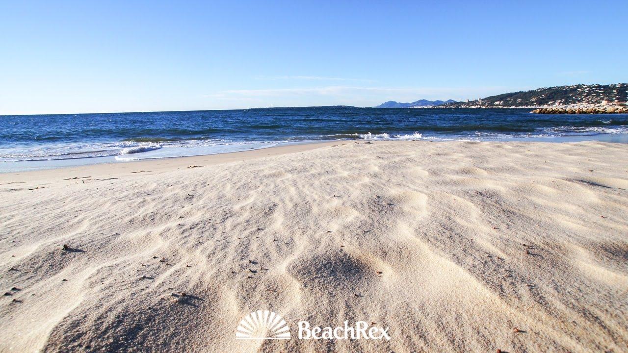 Beach Juan Les Pins Antibes France