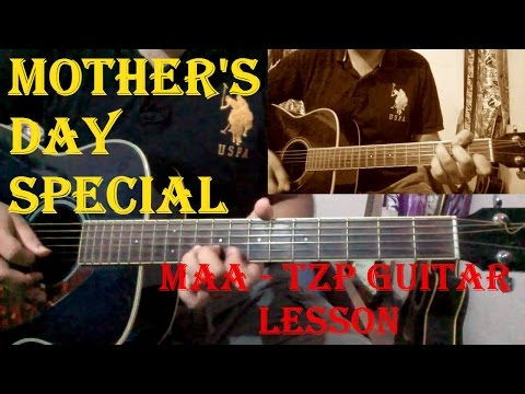 Maa - Taare Zameen Par | Guitar Lesson With Solo | Easy Beginners