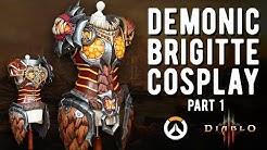 Brigitte Armor Cosplay - Overwatch/Diablo - Pt.1