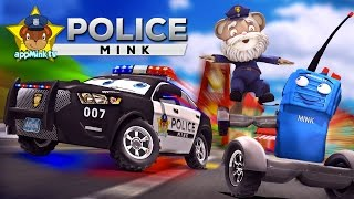 appMink Making a Police Car - Police Chief &  Walkie Talkie Ride Hoverboard and Build a Police Car