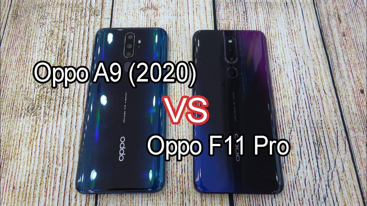 Oppo A9 (2020) vs Oppo F11 Pro | SpeedTest - YouTube