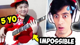 This 5 Year Old Plays BASS Better Than ME??