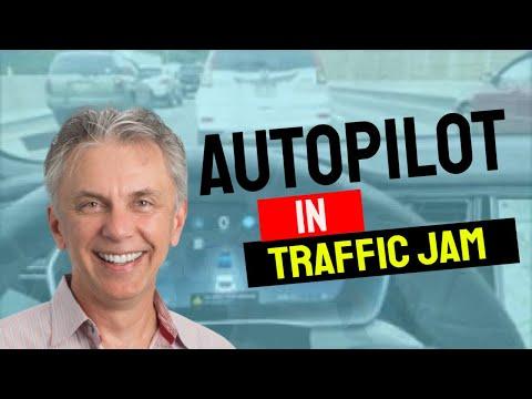 Autopilot in traffic jam