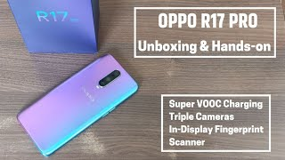 Oppo R17 Pro Unboxing and Features in Hindi