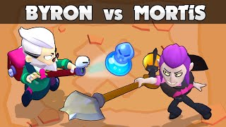 🟥 BYRON vs MORTIS 🟥 Mythic Battle 🟥 1vs1