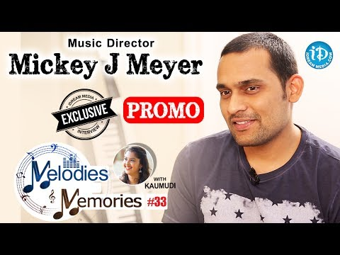 Music Director Mickey J Meyer Exclusive Interview PROMO || Melodies & Memories #33