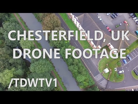 Chesterfield Drone Footage - DJI Phantom thumbnail