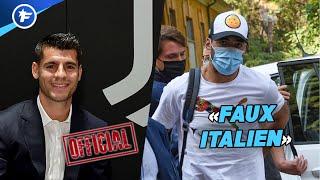 Alvaro Morata retourne à la Juve, Luis Suarez fait scandale en Italie | Revue de presse