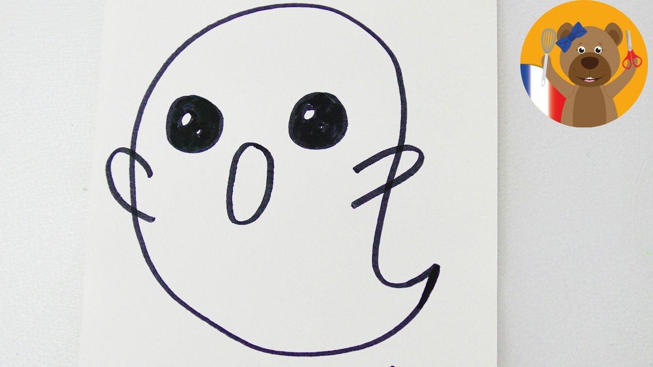 Dessiner un petit fant me en 1 minute pour halloween adorable fant me youtube - Dessiner un fantome ...