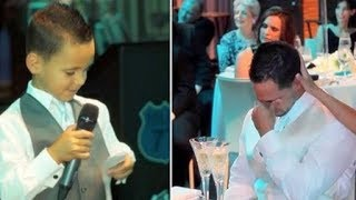 Dad Asks 7-Year-Old To Be His Best Man Not Knowing He'd Expose THIS