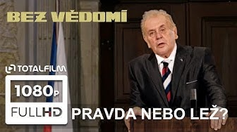 Bez vědomí (2019) Miloš Zeman a jeho falešný projev