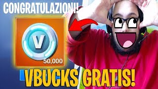 "ECCO HOW TO GET 50,000 VBUCKS ""GRATIS"" on Fortnite !"