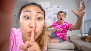 HIDDEN CAMERA ON MY CRUSH!! (GONE WRONG)