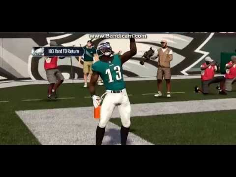 Madden 16: 103 Yard Kick Return Touchdown
