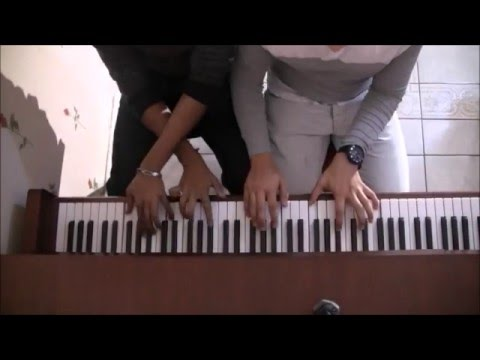 Sun Saathiya - Disney's ABCD 2 | One piano, Two men, Four hand's | By Vidhoosh GL and Arshad MD