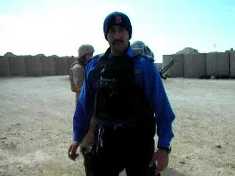 Red Sox Nation Al Qaim Iraq Police and Marines