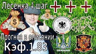 Украина Испания Германия Швейцария Лига Наций Фартовый стрим Прогнозы на футбол Лесенка