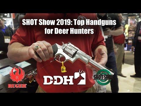 SHOT Show 2019: Top Handguns For Deer Hunters