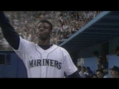 Seattle - Sports - Griffey Jr Hits 8th Home Run in Eight Consecutive Games