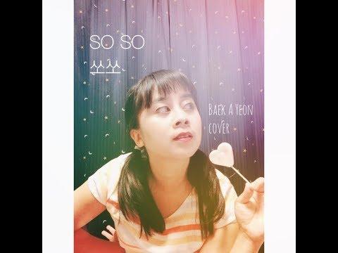 백아연 Baek A Yeon 쏘쏘 - SO SO (Jazz Vocal And Violin Cover) ♡